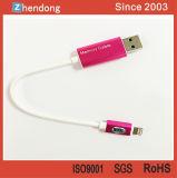 Высокочастотный кабель с изоляцией на шайбах USB внезапный для франтовского телефона