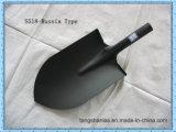 Tipo d'acciaio pala (S518/S519) della Russia della forcella della pala del giardino della testa della pala