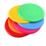 Disco volador irrompible del animal doméstico del silicón de los colores de la venta al por mayor seises