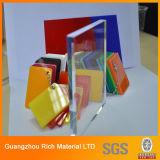 folha do plexiglás de 4 ' x8/folha acrílica plástica molde da cor