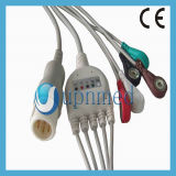 PK 8pins 3 Lead ECG Cable