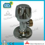 Latón forjado válvula de ángulo manual (YD-C5022)