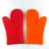 手袋BBQの手袋を調理する完全な耐熱性Softtextileのケイ素の台所