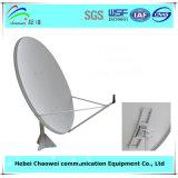 Антенна Ku-120 спутниковой антенна-тарелки напольной пользы смещенная