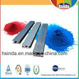 Revêtement en poudre électrique industriel à haute brillance en aluminium