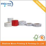Étiquette de papier adhésive d'impression faite sur commande en gros (QYZ035)