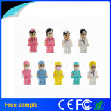 2016 Promotional Gift Plastic Doctor Nurse USB Flash Drive 4GB