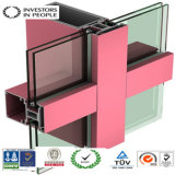 Perfiles profesionales del aluminio/de aluminio de la protuberancia para el marco de la ventana y de puerta