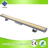 Buona illuminazione della parete LED della lavata del dissipatore di calore dei 36 LED