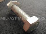 Boulon Hex DIN 933 avec la noix Hex DIN 934, acier inoxydable de rondelle plate DIN 125