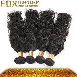 アフリカの毛の拡張倍は100%の本物の未加工ブラジルの毛を密封した