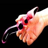 Vibrador de vidro do brinquedo do sexo para as mulheres Injo-Dg081