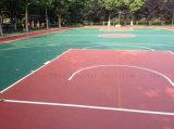 Высокий эластичный настил баскетбольной площадки поставщика Guangdong