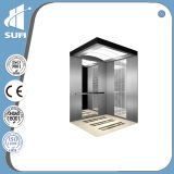 에칭 Mirror Stainless Steel Speed 1.5m/S Passenger Elevator
