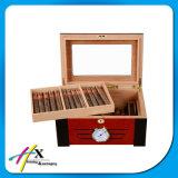 スペインスギの純木の保湿箱、習慣はタバコ入れを作る