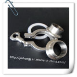 Clip sanitaria registrabile della conduttura d'acciaio di Stainelss