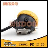 Fabricante profesional de la lámpara de casquillo de la explotación minera, linterna de casco Kl4ms del minero