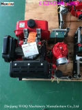 Аграрный насос с двигателем дизеля