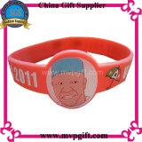 Annonçant la bande de poignet de silicones pour le cadeau (M-MW18)