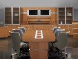 Tavolo di riunione curvo rotondo mezzo moderno di congresso dell'ufficio della melammina (SZ-MT118)