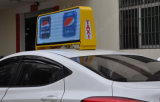 Full mobile Color Taxi Roof LED Sign di Outdoor P5