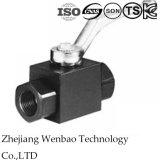 HochdruckPn300 1PC schmiedete hydraulisches Stahlkugelventil