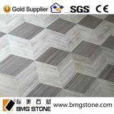Marmo di legno grigio della vena, lastre & mattonelle di marmo grige della Cina Serpeggiante