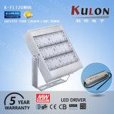 L'alto indicatore luminoso di inondazione di Effciency 120W LED sostituisce l'illuminazione usata dello stadio