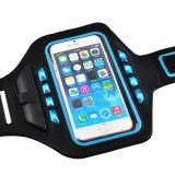 5とiPhone6sのための防水連続した方法腕章の革箱