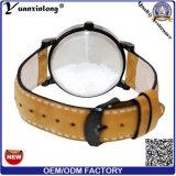 Yxl-748 nuovi Timex di lusso ha marcato a caldo le vigilanze di Mens uomini di cuoio molli eccellenti dell'orologio vigilanza impermeabile del quarzo