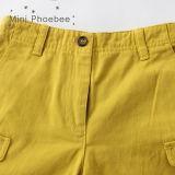 L'usura 100% dei bambini del cotone scherza gli Shorts della chiusura lampo dei ragazzi dei vestiti