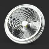 2500k lampe privée du moulage 15W G53 DEL pour l'éclairage de restaurant