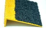 Fibre de verre/nez en acier d'escalier de l'utilisation FRP de grille