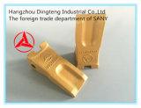 Sanyの掘削機Sy60/65/75/95のための掘削機のバケツの歯Sy75.3.4-2 No. 12076809k