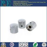 Fait dans des garnitures de usinage personnalisées par Chine de moletage de commande numérique par ordinateur d'aluminium