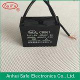 Cbb61 WS Motor Ceiling Fan Capacitor 4UF 450V