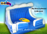 Big Inflatable Wave Mechanical Surfboard для парка развлечений