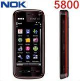 Nokia 5800の携帯電話GSM WCDMA 3.2MPのカメラ3G GPS WiFiのためにロック解除される