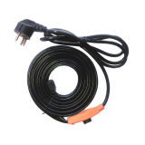 에너지 Saving Thermostat를 가진 유럽 Plug Water Pipe Heating Cable 220V-240V