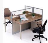Spätestes modernes Aluminium T formte das 2 Personen-Büro-Schreibtisch (SZ-WST741)