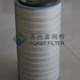 Filter van de Handvaten van de Lucht van Spunbonded van de Polyester van de Collector van het Stof van het Micron van Forst de Geplooide