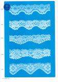 Trikot-Spitze für Kleidung/Kleid/Schuhe/Beutel/Rechtssache 3193 (Breite: 7cm)