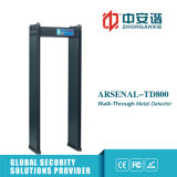 Detector de metales del marco de puerta de la alarma del sonido del examen de los estadios de los deportes con el nivel 200