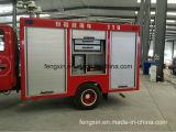 Porte en aluminium de roulement de camion de pompiers