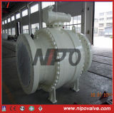 Big Size Forged Steel Ball Valve Tourillon