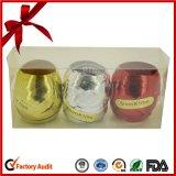 Poli nastro riccio riccio d'arricciatura unito colore giallo di spostamento di regalo del nastro del regalo dell'uovo del nastro