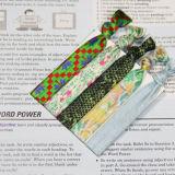 Populäres verziertes Elatic Haar bindet Armband von der Fabrik direkt