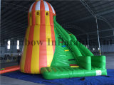 Usine Direct Sale 6X5.3X7m Helter Skelter Inflatable Bouncers combiné Slide