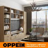 Muebles de madera del dormitorio del diseño de Oppein del proyecto libre del apartamento (OP15-HS1)