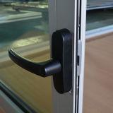 Porte en aluminium de tissu pour rideaux de profil de l'interruption Kz268 thermique, porte de tissu pour rideaux d'obturateur et inclinaison et porte de tissu pour rideaux de spire
